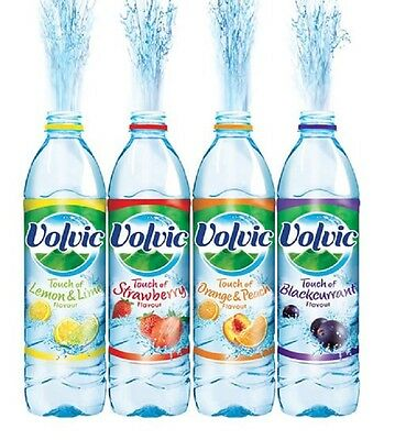 Volvic Touch of Fruits Flavour Flavoured Water 500ml & 1.5L