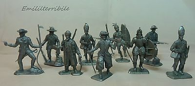 12 Soldiers Of The World 1973 Nabisco Cereal Toys Premium Kellogg's Patatine Pai