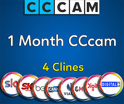 1 Month CCcam (Just For Testing Our Servers)