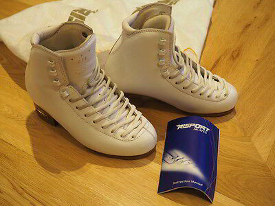 Risport RF3 skate boots for Ice or Roller skating - White size 235