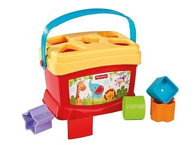 Fisher Price Baby's First Blocks Shape Sorter Stack Learn Match Shape