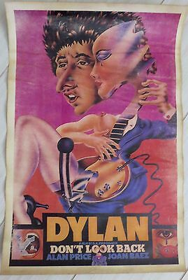 """Bob Dylan Poster for """"Don't Look Back"""""""