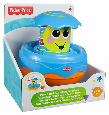 Fisher Price Peek And Roll Ball