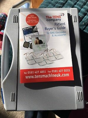 Med-Fit 2 Wireless Dual Channel Tens Machine-Fast Effective Pain Relief  RRP £80