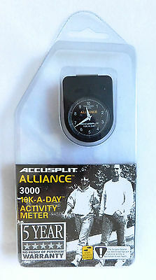 NEW Accusplit Alliance AL3000 10K-A-DAY Activity Meter New & Sealed Counts Steps