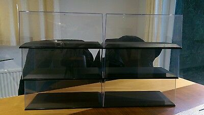 Die-Cast Model Autoart Display Cases for 1:18 scale models.