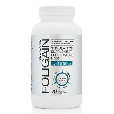 FOLIGAIN STIMULATING HAIR REGROWTH SUPPLEMENT 120 Caplets