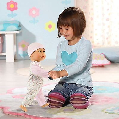 NEW BNIB - BABY ANNABELL Anabelle DOLL WALKING Learns to Walk Crawls Sits Steps