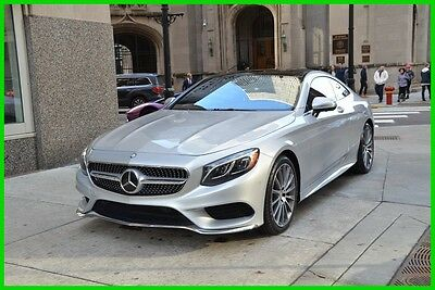 2016 Mercedes-Benz S-Class S550 4MATIC® 2016 S550 4MATIC Used Turbo 4.7L V8 32V Automatic 4MATIC Coupe Moonroof Premium