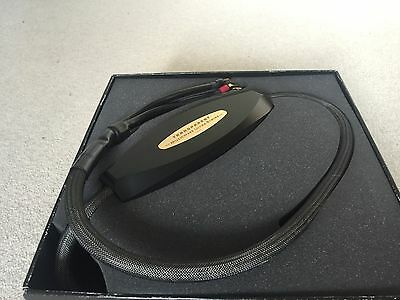 Transparent Audio Ultra BIWIRE MM1 Speaker cable SPADES - BOXED-RRP £3500