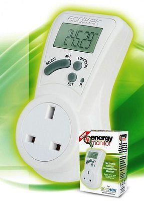 ecotek energy monitor energy saving device as seen on dragons den
