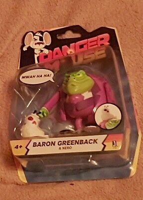 Danger Mouse Baron Greenback & Nero - Figure - New in Packaging