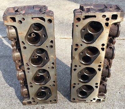 Ford 351c-4V D0AE-N Cylinder Heads, Closed Chamber