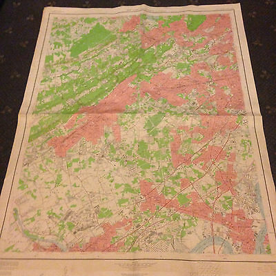 Large Plainfield, New York & Vicinity, Geological Survey Map