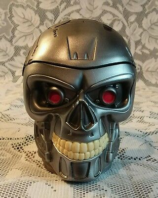 Universal Studios Terminator T2 Coffee Mug Cup with Lid Rare Vintage Canal +