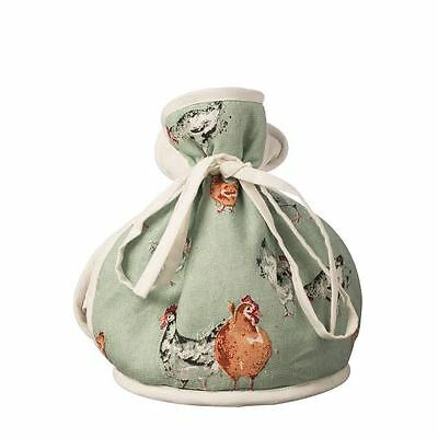 Price & Kensington Farmhouse Kitchen Hen Chicken Muff Tea Cosy Green 6 Cup