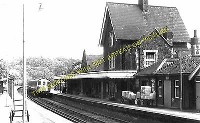 2 Guildford to Haslemere Godalming Railway Station Photo Farncombe Milford