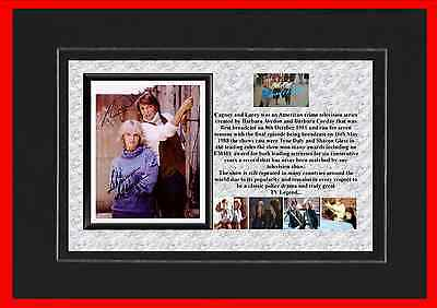 Cagney And Lacey Tv Classic Mounted Display