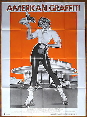 AMERICAN GRAFFITI - French movie poster - 47x63 - George Lucas '73
