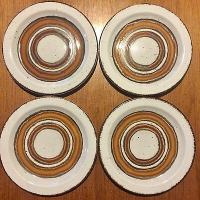 "Midwinter England, 7"" Bread Plates, Earth"