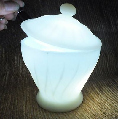 Vintage Milk Glass Pretty Candy Dish