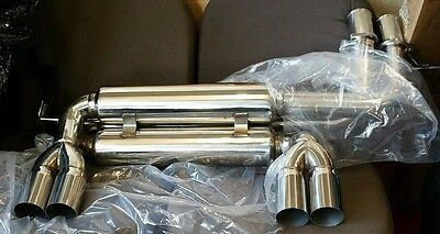 Bmw E46 3 Series 3.2 M3 98+ Coupe Stainless Steel Race Sport Exhaust Back Box