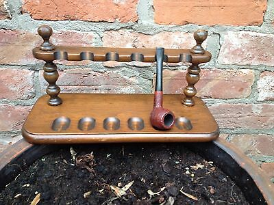 Antique Smokers Pipe Rack.