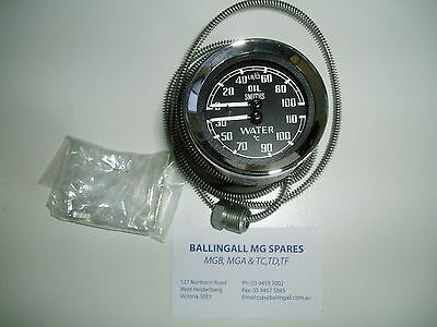 Bha4764 Mgb Oil/temp (C) Gauge By Smiths Part Number Bha4764 New