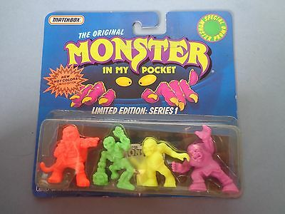 Matchbox - The original monster in my pocket -limited edition: series 1 - new