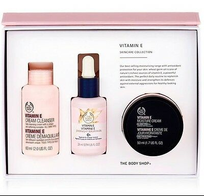 The Body Shop - Vitamin E Piece Skincare Collection - Boxed Gift Set *Fast Post