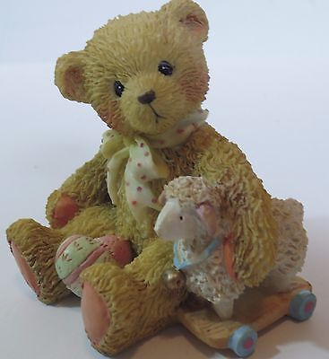 """Rare Cherished Teddies Chelsea """"Good Friends Are a Blessing"""" 910694 Easter"""