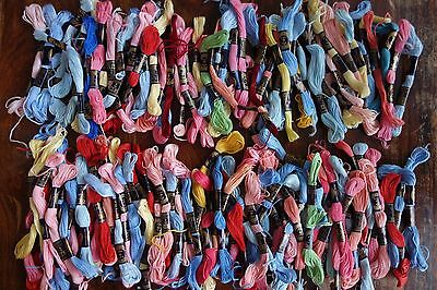 Job Lot 118 Skeins Vintage Anchor Clark & Co Fast Colour Embroidery Thread Floss