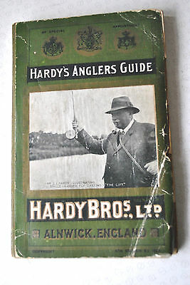 A Good Rare Vintage Hardy Advertising Fishing Catalogue Anglers Guide For 1925