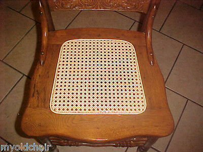 "Chair cane caning  seat webbing  weaving repair replacement kit 18"" x 24"""
