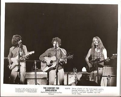 The Beatles George Harrison Bob Dylan Leon Russell CONCERT FOR BANGLADESH 8x10