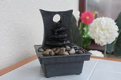 Battery operated stone effect water fountain indoor water fountain