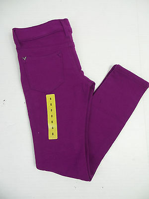Vigoss Girls' Knit Pants Purple US Size 14 NWT