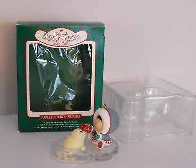Hallmark Frosty Friends 1987 Christmas Ornament 8th Eighth In the Series