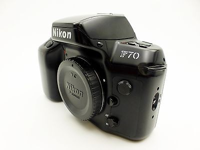 Nikon F70 35mm Film Camera Body
