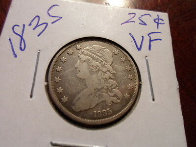 1835 25C Capped Bust Quarter REDUCED