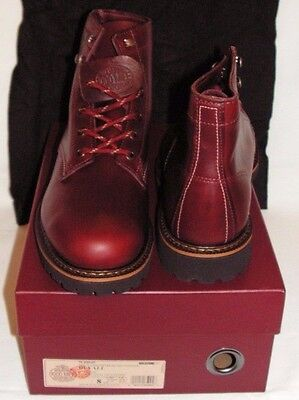 2ddaf185d7b WOLVERINE 1000 MILE Duvall Men's Boots Dark Red Size 8D NEW