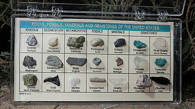 Rocks, Fossils, Minerals, and Gemstones of the USA