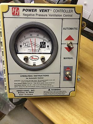 Hired Hand Power Vent Controller