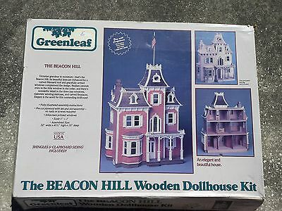 Greenleaf wooden The Beacon Hill dollhouse kit Victorian grandeur in miniature