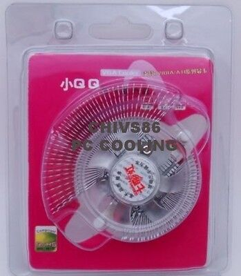 Small QQ VGA Video Card Cooler Cooling Fan Heatsink for NVIDIA GeForce ATI