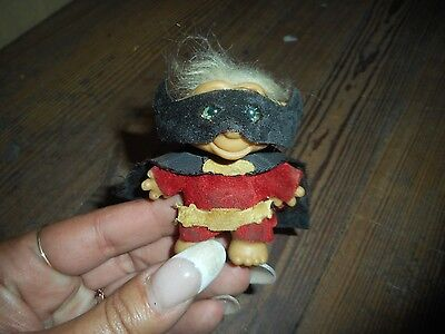 Vintage 1960 Troll With Mask and Cape