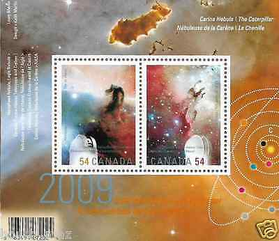 Canada -Souvenir sheet Overprinted -International Year of Astronomy #2323c -MNH