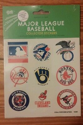 1984 MLB Baseball American League East Scratch N Sniff Stickers SEALED! RARE!