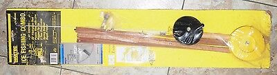 "Vintage MAXTEC 28"" Ice Fishing Reel Combo (NEW)"