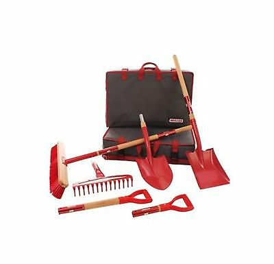 RedHed 9-Piece Interchangeable Garden Tool Set Shovel Cultivating Planting Tool